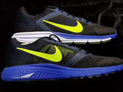 new product ea180 521e9 MENS NIKE Zoom Structure + 17 Black Blue Sz 11.5