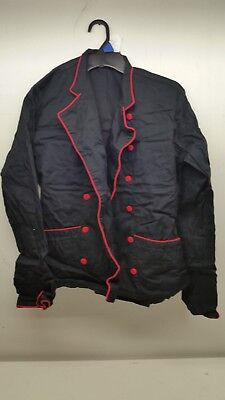 Chef Uniforms.Com  Chef Coat Gently Used Size S In Black