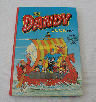THE DANDY BOOK. 1988. EXCELLENT PRISTINE CONDITION.Unclipped No Name.