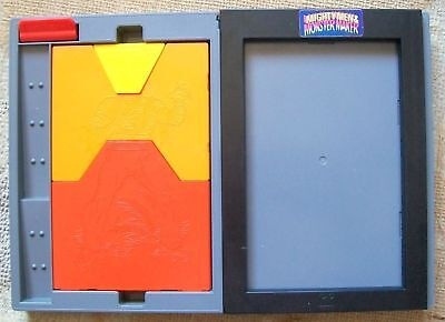 Vintage Tomy Mighty Men & Monster Maker Toy Drawing Set, 1980s