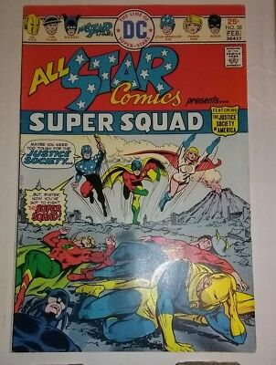 All Star Comics 58 1st Appearance Power Girl DC Comics Bronze Age High Grade