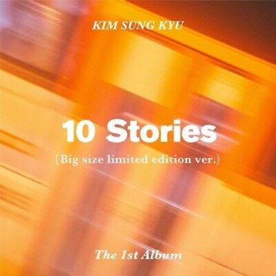 Infinite Kim Sung Kyu-[10 Stories] 1st Album Limited CD+Poster+Booklet+PhotoCard