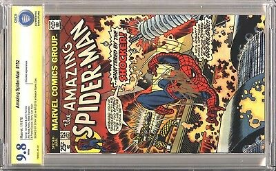 Amazing Spider-Man 152 CBCS 9.8 SS Signed by Stan Lee! Signature Series NOT CGC
