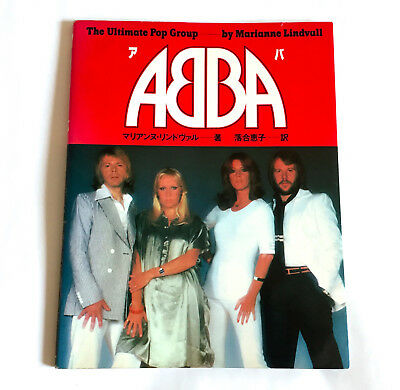 ABBA The Ultimate Pop Group JAPAN PHOTO STORY BOOK 1978 Songbook Discography
