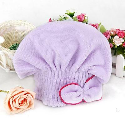 Newly Textile Useful Dry Microfiber Turban Quick Hair Hats Towels Bathing Gifts