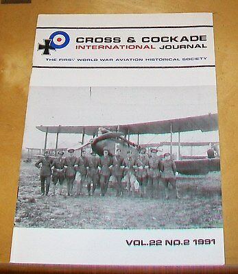 CROSS & COCKADE GREAT BRITAIN JOURNAL VOL 22 No 2 1991 KEST 1A ROBERTS-TAYLOR