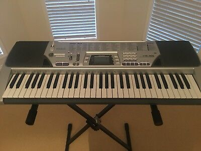 Casio Keyboard CTK-496 Inc Stand