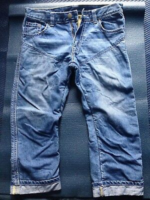 Divalo 3/4 Length Men's Motorcycle Protective Jeans Size 32