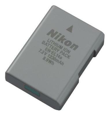 Nikon 27126 EN-EL 14A Rechargeable Li-Ion Battery (Grey)