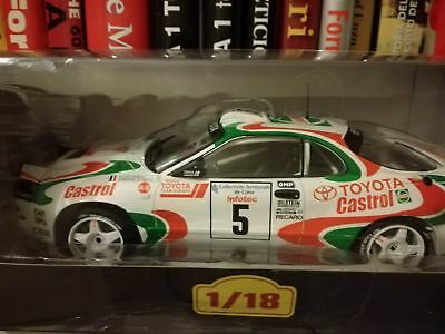 Toyota Celica Turbo 4WD ST185-Rally Tour de Corse 1994 Auriol/Occelli 1:18