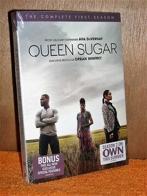 Queen Sugar: The Complete First Season (DVD, 2017, 3-Disc Set) Rutina Wesley