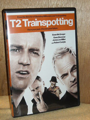 T2 Trainspotting 2 (DVD, 2017) Ewan McGregor Ewen Bremner Jonny Lee Miller