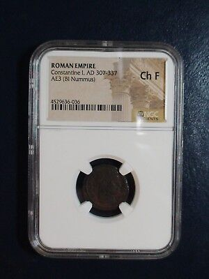 Roman Empire Constantine I 307 To 337 Ad Ngc Fine Ancient Coin Priced To Sell!