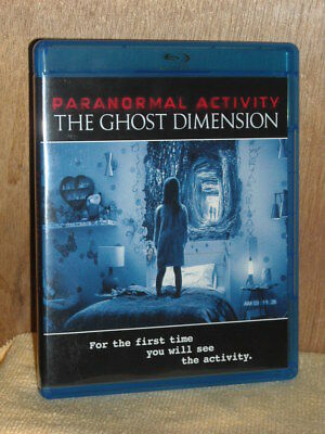 Paranormal Activity: The Ghost Dimension (Blu-ray, 2016) Chris J. Murray