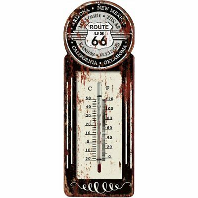 Balance 595396 Route 66 Retro -20°C - +50°C Balkonthermometer Gartenthermometer