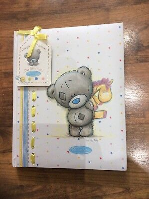 Pregnancy Maternity Baby Journal Keepsake Book Tiny Tatty Teddy Brand New Unused
