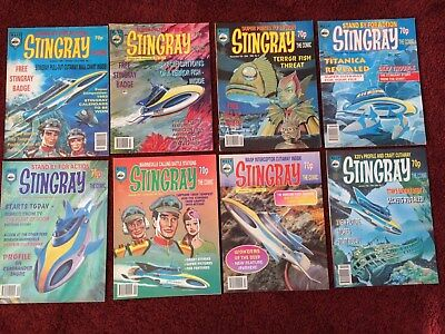 Stingray The Comic No 1-10 inclusive from Gerry Anderson tv show