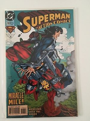 Superman #708 Mar 1995 VF