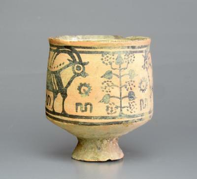Indus Valley Nal Culture pottery vessel with motifs: Circa 2500-2000 BC.