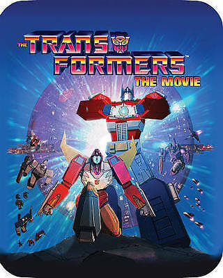 TRANSFORMERS THE MOVIE (Blu-ray Disc, 2016, 30th Anniversary SteelBook) NEW