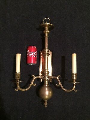 CHAPMAN Manufacturing wall sconce Electric Balustrade Model# 11948AE Solid Brass