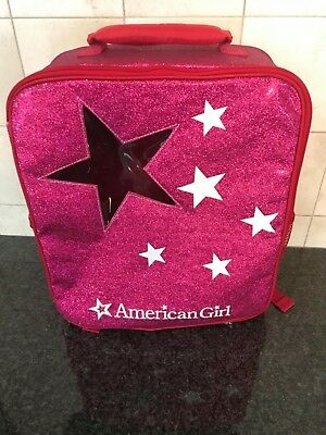 American Girl Backpack Sparkle Doll Tote for Girls New Doll and Pet Carrier