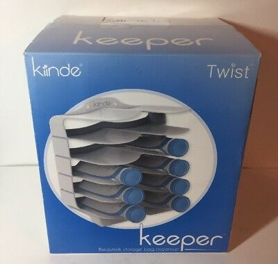Kiinde Keeper Breast Milk Storage Bag Holder And Organizer