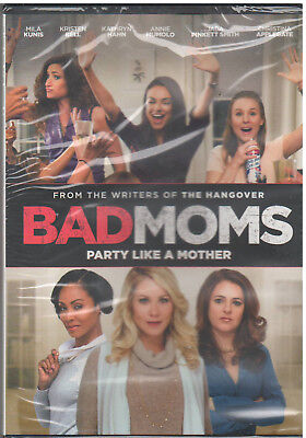 Bad Moms (Dvd, 2016) New