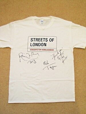 THE ROLLING STONES Signed T-shirt - Streets of London charity auction