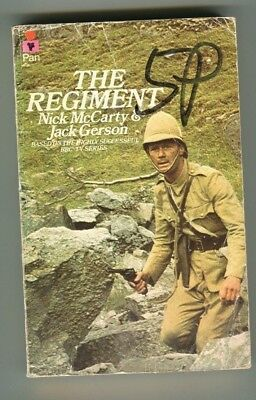 paperback book The regiment by Jack Gerson and Nick McCarty ( 1973)