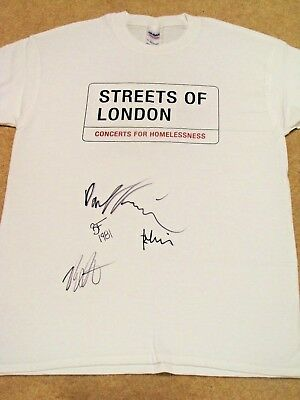 THE KILLERS Signed T-shirt - Streets of London charity auction