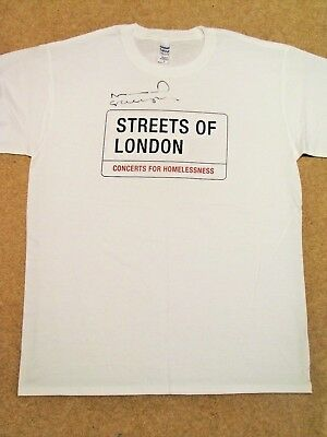 NOEL GALLAGHER Signed T-shirt - Streets of London charity auction