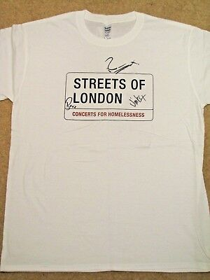 BIFFY CLYRO Signed T-shirt - Streets of London charity auction