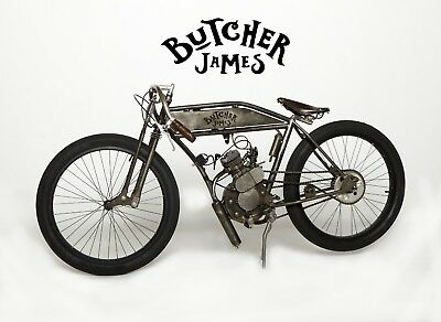 2018 Indian Butcher James Radass  Board Track Racer Custom Built BY BUTCHER JAMES