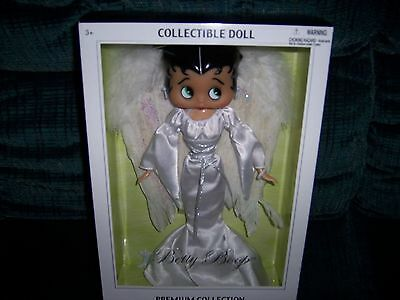 Betty Boop Collectible Angel Doll   Mib...nrfb