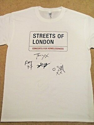 THE XX Signed T-shirt - Streets of London charity auction