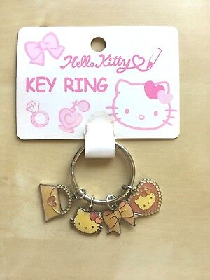 Sanrio Hello Kitty Pink Fashion/Dress-Up Themed Keychain