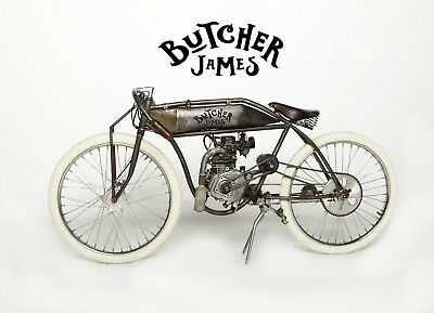 2018 Indian Butcher James Krusher  Board Track Racer Custom Built BY BUTCHER JAMES