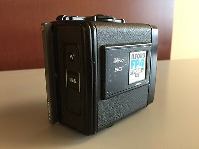 BRONICA SQ 135 W 135W Panoramic Film Back - Used, No Reserve, Low Starting Bid!