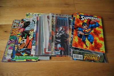 JOB LOT 20x RARE Marvel and DC Epic First Comics inc #1 - All Listed