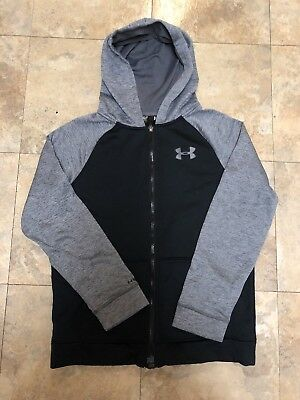 Youth Boys Under Armour Storm1 Storm Full Zip Jacket Size YLG Large Hoodie