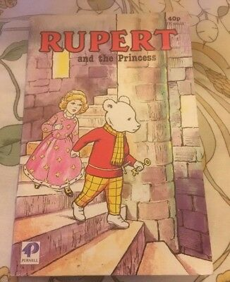 Collectable Copy Of 'Rupert And The Princess'. Published By Purnell In 1985