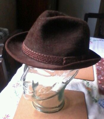 Vintage Woodrow hat,london Piccadilly trilby,fedora, Chap, 1940s