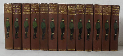 Lot of 13 Antique 1903 1st Ed. Hardcover Frank Merriwell, by Burt L. Standish