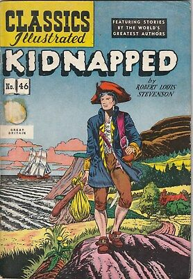 Classics Illustrated Number 46, Kidnapped. Strato Uk Edition.