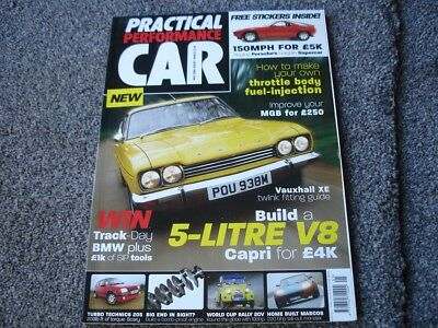 Practical Performance Car Magazine 1st issue May 2004 164 pages clean copy