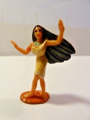 Vintage 1995 Polly Pocket Disney figure - Pocahontas
