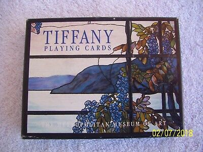 1992 Tiffany Playing Cards