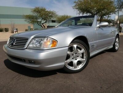 2002 Mercedes-Benz SL-Class SL500 Silver Arrow Convertible ilver Arrow SL500 Convertible AMG Sport Package 2001 2000 1999 1998 sl 500