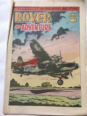 DC Thompson. ROVER & ADVENTURE Comic May 4th 1963. **Free UK Postage**